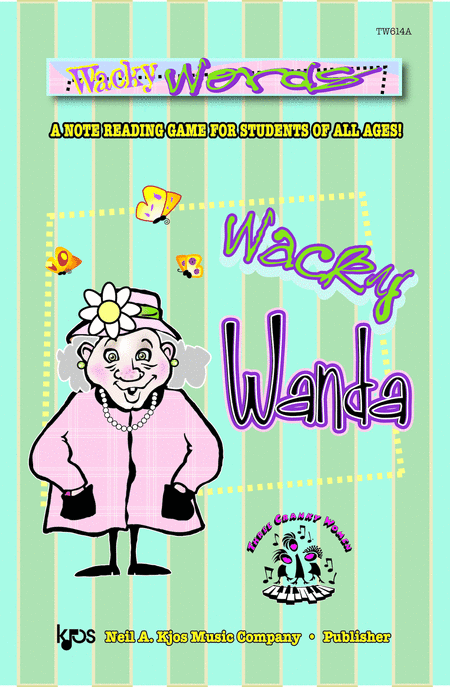 Wacky Words starring Wanda (Jumbo Size)