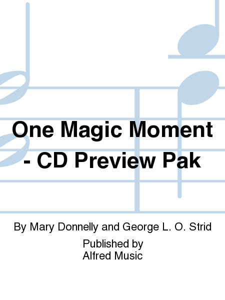 One Magic Moment - CD Preview Pak