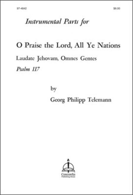 Laudate Jehovam, Omnes Gentes (Psalm 117)