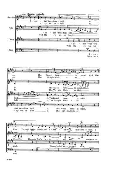 Chorale Motet On