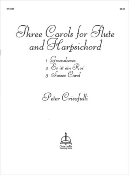 Three Carols For Flute And Harpsichord
