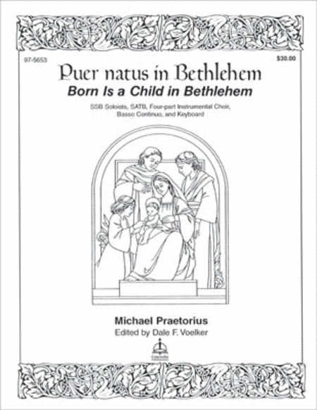 Born Is a Child in Bethlehem (Puer natus in Bethlehem)