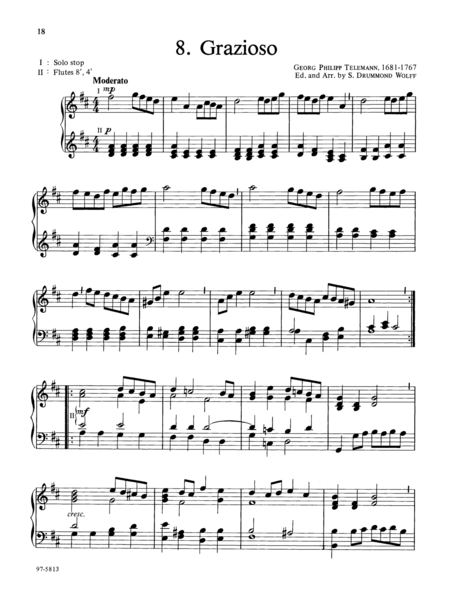 Baroque Music For Manuals, Volume III