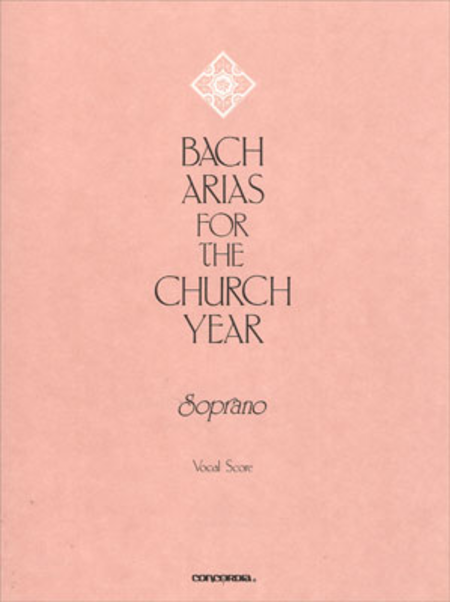 Bach Arias For The Church Year