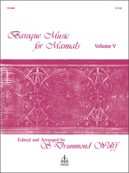 Baroque Music For Manuals, Volume V