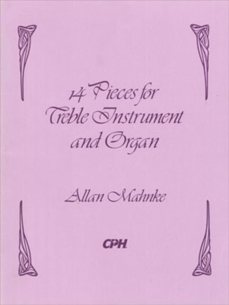 Fourteen Pieces For Treble Instrument And Organ