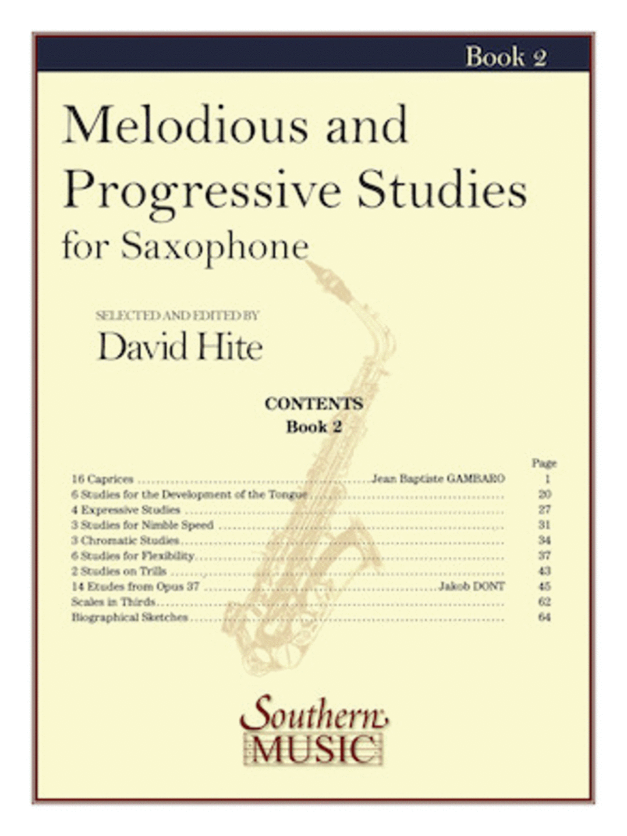 Melodious and Progressive Studies, Book 2
