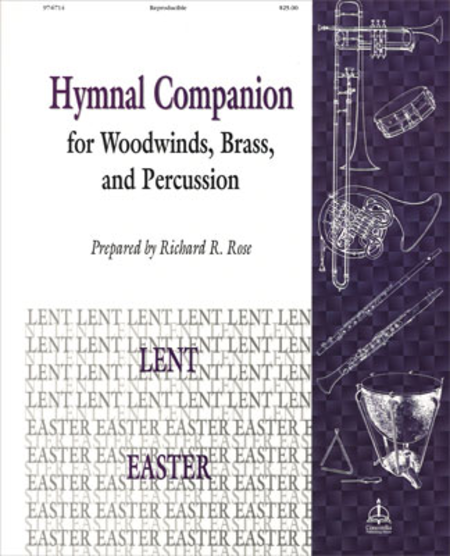 Hymnal Companion For Woodwinds, Brass And Percussion