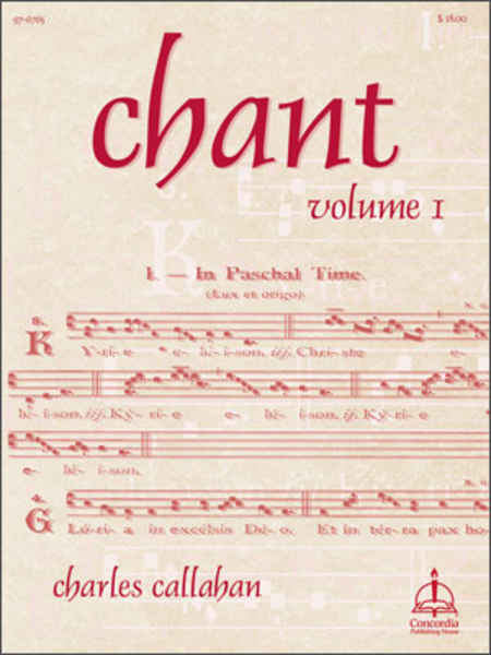 Chant, Volume I