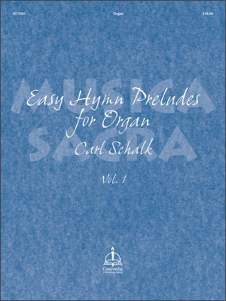 Musica Sacra, Volume 1: Easy Hymn Preludes For Organ