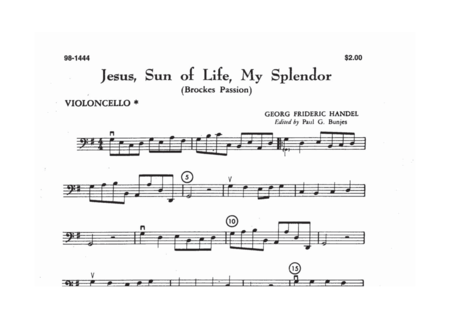 Jesus Sun Of Life, My Splendor