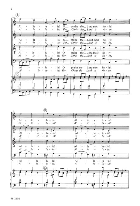 Alleluia! O Praise / Alleluia! For Christ