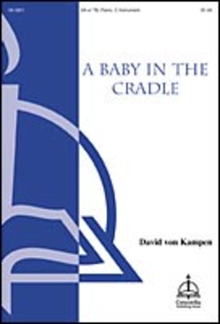 A Baby in a Cradle