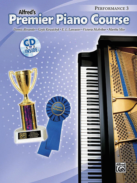 Premier Piano Course Performance, Book 3