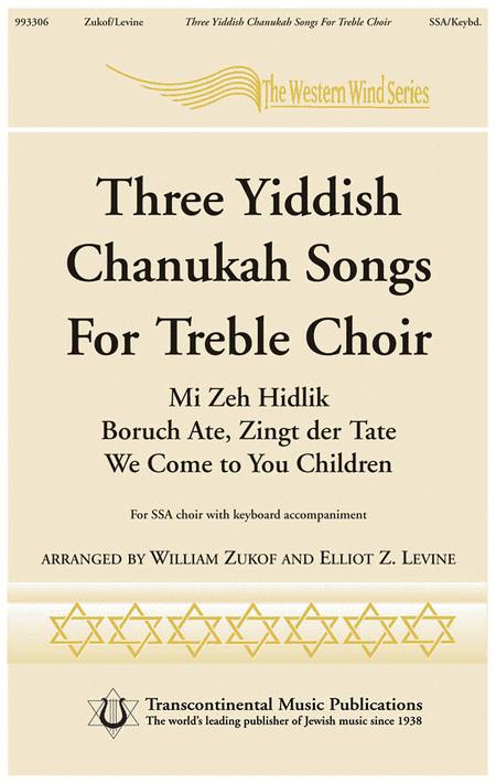 Three Chanukah Songs for Treble Choir
