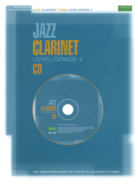 Jazz Clarinet CD