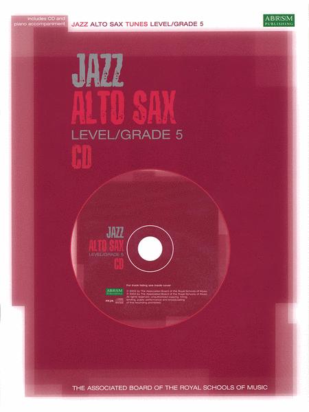 Jazz Alto Sax CD (Alto Saxophone)
