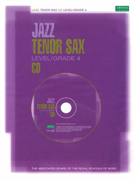 Jazz Tenor Sax CD