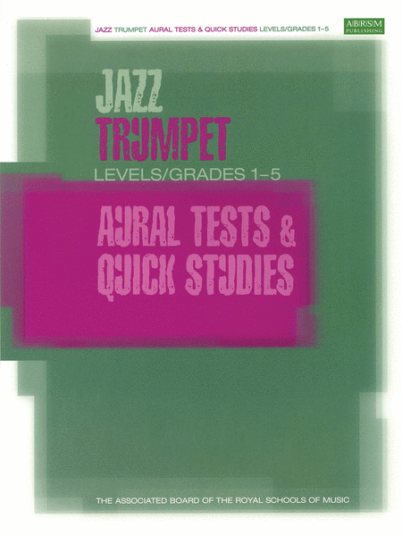 Jazz Trumpet Aural Tests & Quick Studies