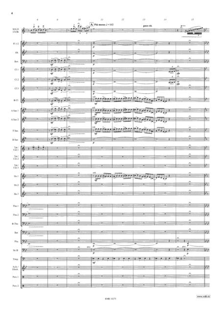 Rhapsody in Blue (Clarinet Solo)
