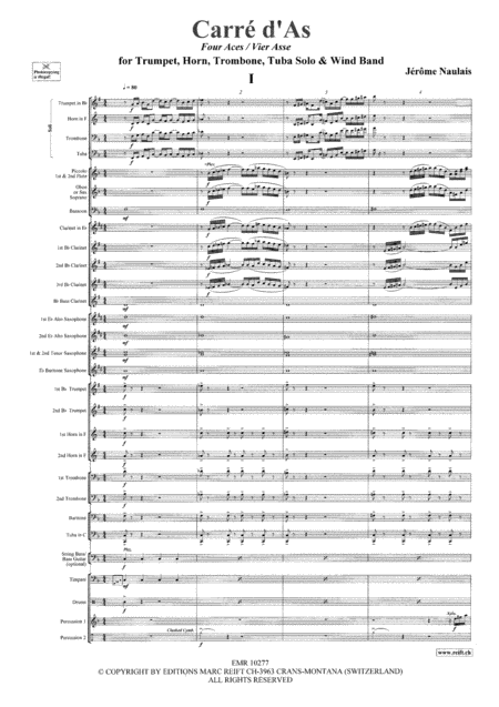 Four Aces (Brass Quartet)