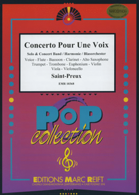 Concerto Pour Une Voix