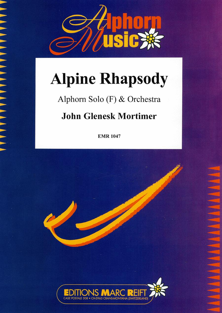 Alpine Rhapsody fur Alphorn in F
