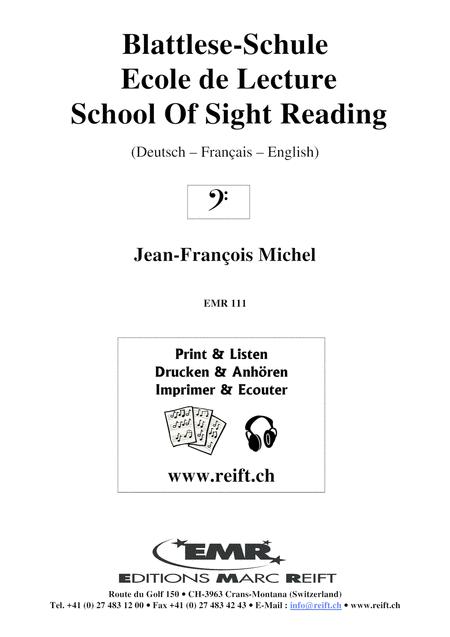 Blattlese-Schule / Ecole de lecture