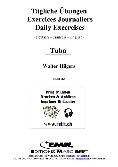 Tagliche Ubungen / Daily Drills