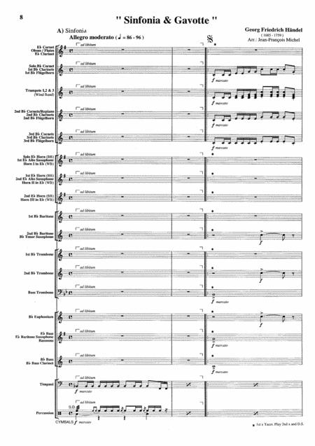 Choral / Sinfonia & Gavotte