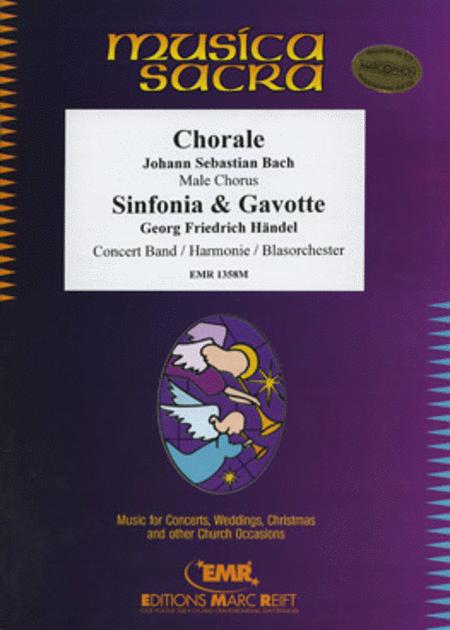 Choral / Sinfonia & Gavotte (Male Chorus)