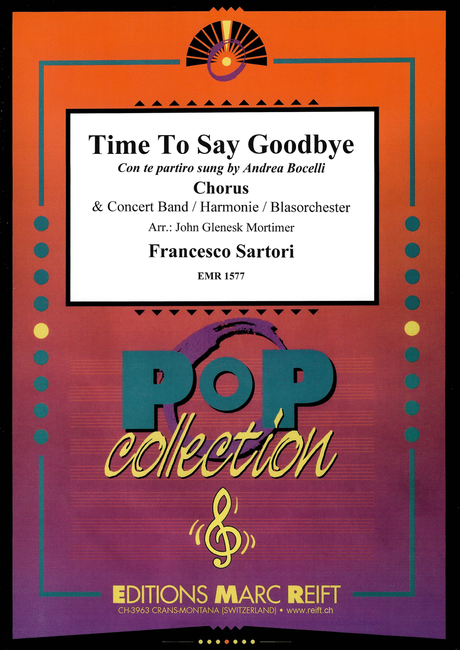 Time To Say Goodbye (Chorus SATB)