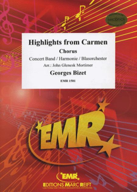 Highlights From Carmen (Gipsy Song-Prelude-Habanera-Seguidilla-Entr'acte) - (Chorus SATB)