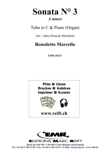 Sonata No. 3 in A minor