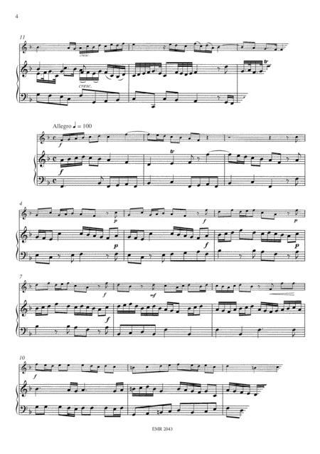 Sonata No. 1 in F major