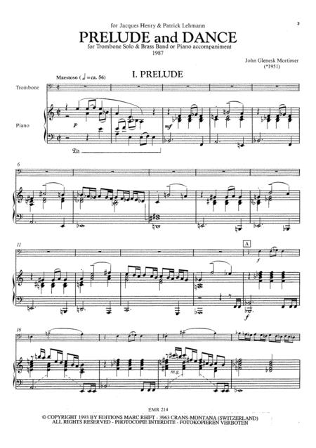 Prelude & Dance