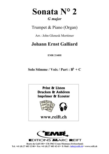 Sonata No. 2 in G major