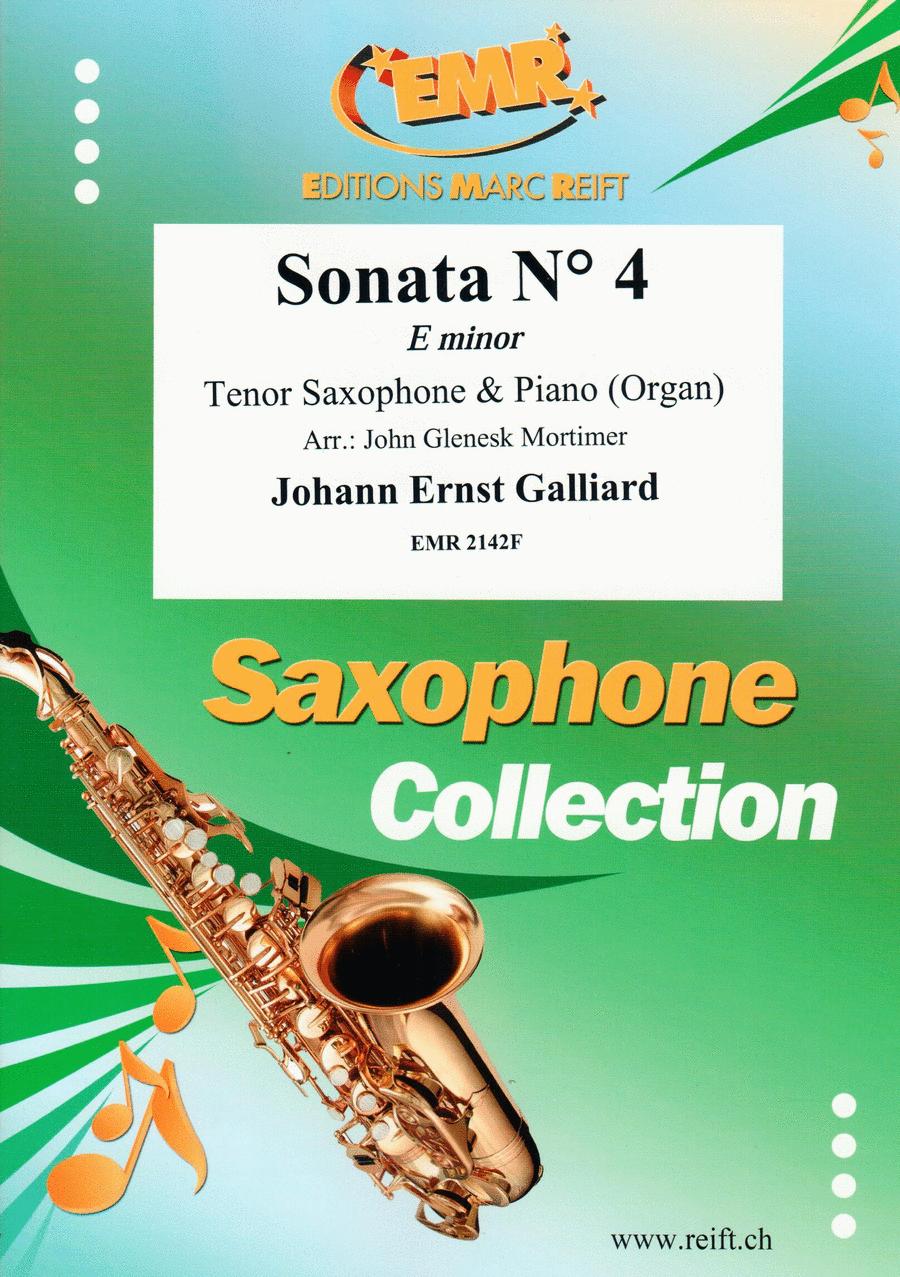 Sonata No. 4 in E minor