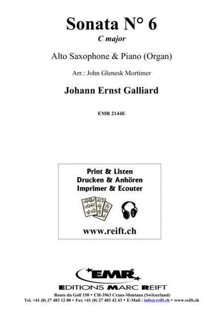 Sonata No. 6 in C major