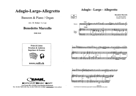 Adagio - Largo - Allegretto