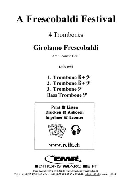 A Frescobaldi Festival