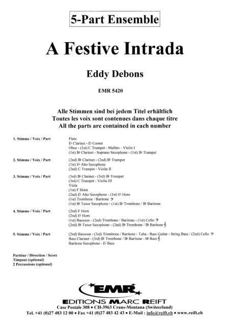 A Festive Intrada