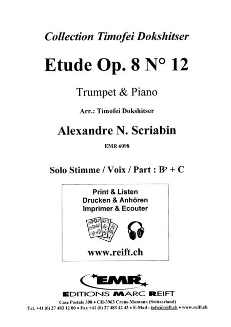 Etude Op. 8 No. 12