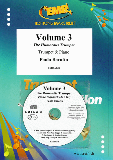 Volume 3, The Humorous Trumpet (with CD)