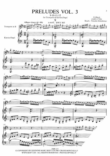 Preludes Vol. 3