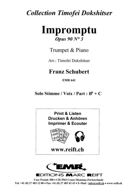 Impromptu Op. 90 No. 3