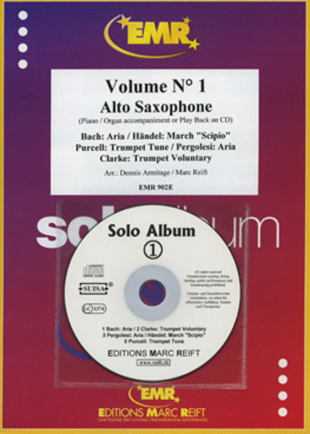 Solo Album Vol. 01 (with CD)