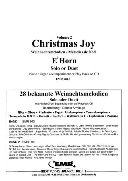 28 Weihnachtsmelodien Vol. 2 (with CD)