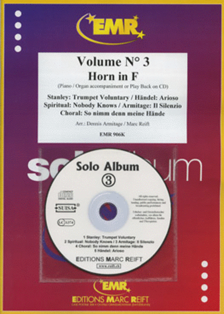 Solo Album Vol. 03 (with CD)