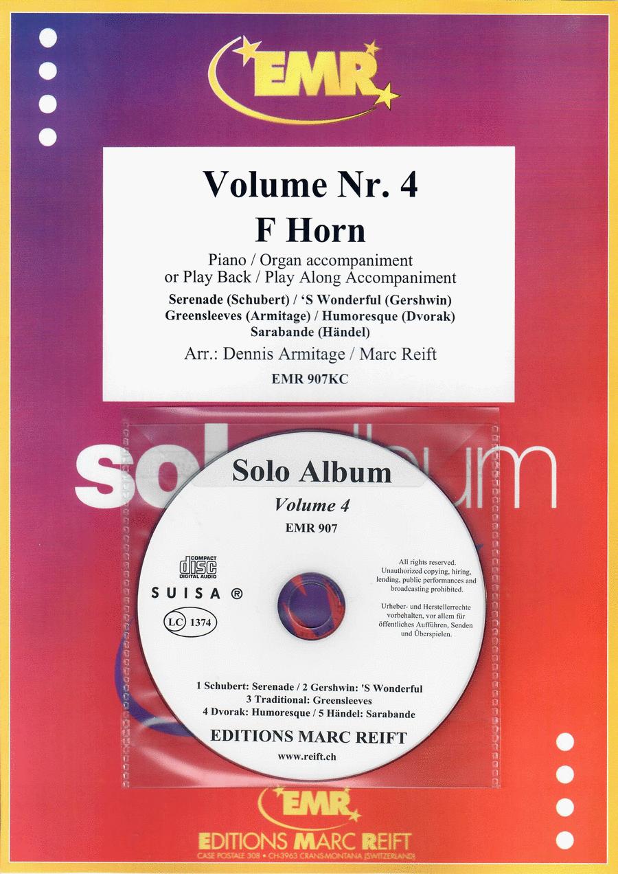 Solo Album Volume 04 (with CD)